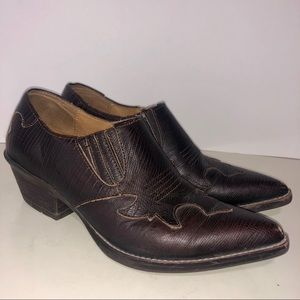 Ariat Leather Ankle Boots Size 5.5